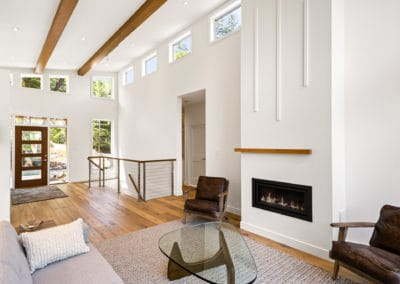 Georgia Park Heights Custom Home open concept living