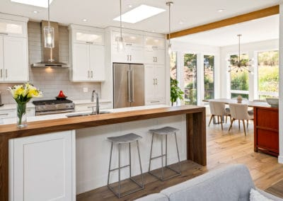award-winning kitchen and dining rooms