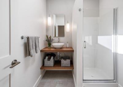 Guest bath Georgia Park Heights Custom Home