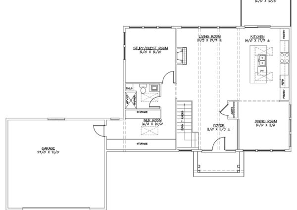 West coast modern award-winning floor plan