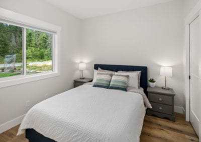 Spare bedroom custom home